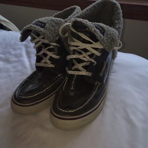 Sperry Top-Sider Shoes - Grey and purple Sperrys