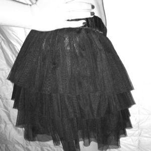 F21 Tutu tiered skirt