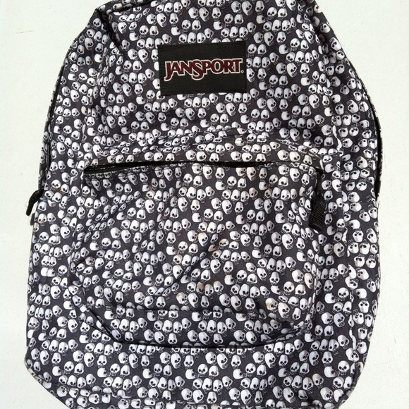 83% off JanSport Accessories - JanSport Skull Backpack from Wild ...
