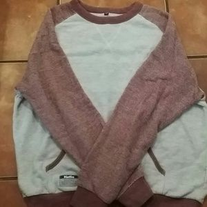 Katin Other - Burgandy/ gray mens sweater