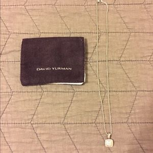 David yurman petite Albion necklace with diamonds