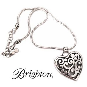 Beautiful Brighton large heart necklace