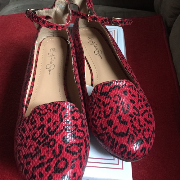 Nichole Simpson Shoes | Perfection Red