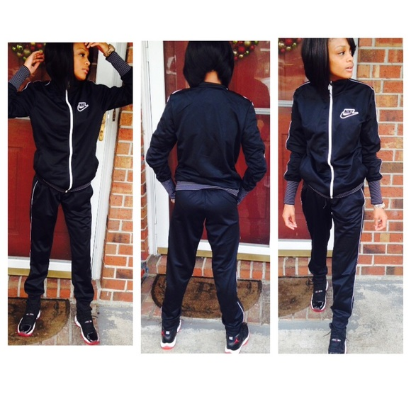Nike jumpsuit! SZ: SMALL, $70 for top & bottom