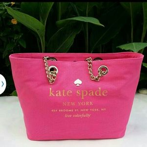 Kate Spade Pink Broadway Tote Bag Purse