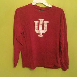 Tops - Long sleeve IU Hoosiers tshirt