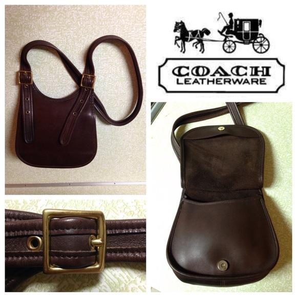 a86bb222311e Coach Handbags - COACH Vintage Faith s Legacy Saddle Bag Crossbody