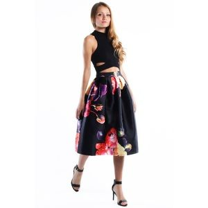 """Pretty Woman"" Crop Top & Skirt Set"