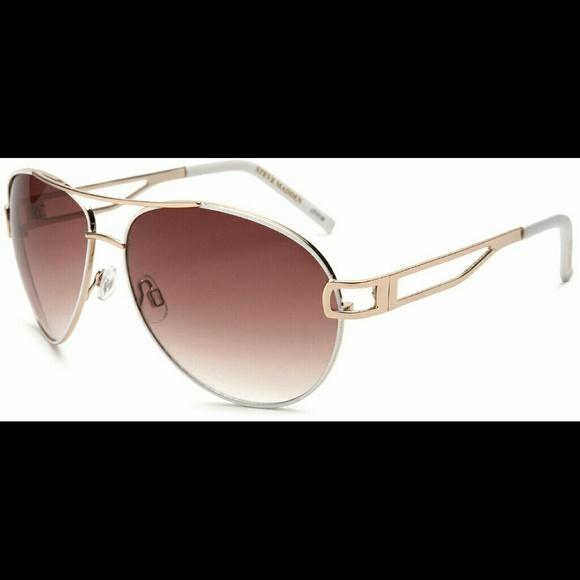 35949fe24b Steve Madden Women s S5137 Aviator Sunglasses