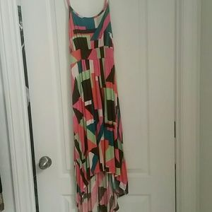 Wanted Dresses & Skirts - Multi color high low dress