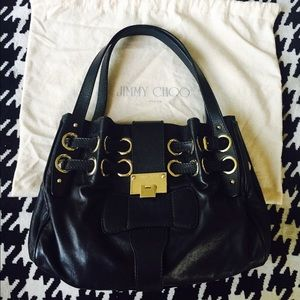 811f55de5316 Jimmy Choo Bags - Jimmy Choo Riki Hobo Shopping Bag