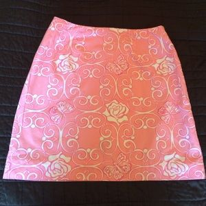 Lilly Pulitzer Dresses & Skirts - Lilly Pulitzer pink skirt - Vintage!