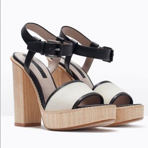 Zara Shoes - Zara Heeled Sandals