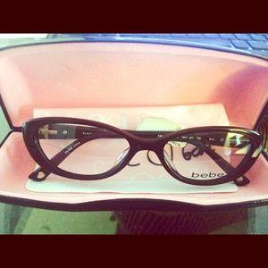 White Bebe Eyeglass Frames : 92% off bebe Accessories - NWOT! Bebe Stainless Steel ...