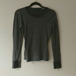 BDG Long Sleeve Grey Shirt