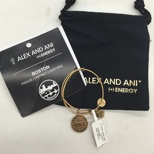 Alex & Ani Jewelry - BENT ALEX & ANI BRACELET BOSTON