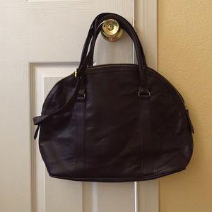 H&M faux leather shoulder bag