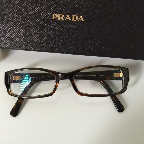 2a340bc18c07 Prada prescription glasses plastic frame 52-16-135.  M 557b535910b889306f001d1a