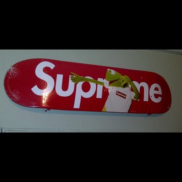 c6b46578b2 Supreme Other | 2008 Kermit The Frog Board | Poshmark
