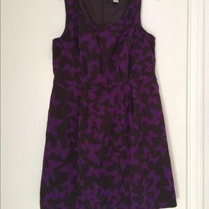 Purple Butterfly LOFT dress