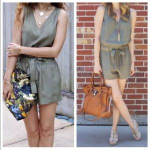 Banana Republic Dresses & Skirts - Banana republic olive romper