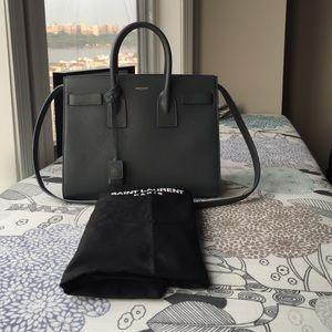 24% off Saint Laurent Handbags - YSL Nano Sac de Jour in Black ...