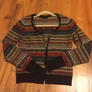 GUESS Los Angeles tribal cardigan