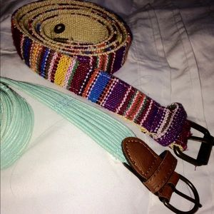 Accessories - ❌SOLD❌ Belt Bundle ✨
