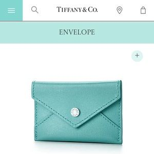 Tiffany co clutches wallets tiffanys leather envelopebusiness bags tiffanys leather envelopebusiness card holder colourmoves Images