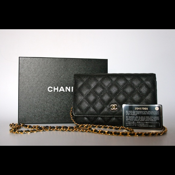 906ce18a6f2c CHANEL Bags | Sold100 Authentic Caviar Black Woc | Poshmark