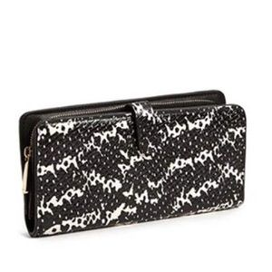 Coach Madison Wallet 2Tone Python Embossed Leather
