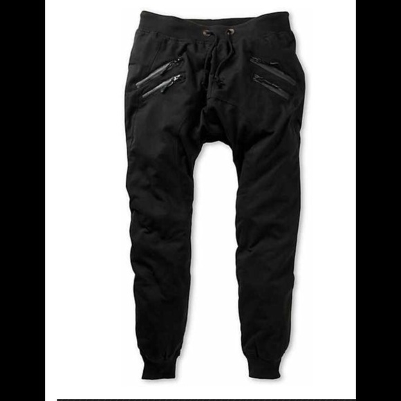 64% off Pants - Get in style with these all black joggers! from ...