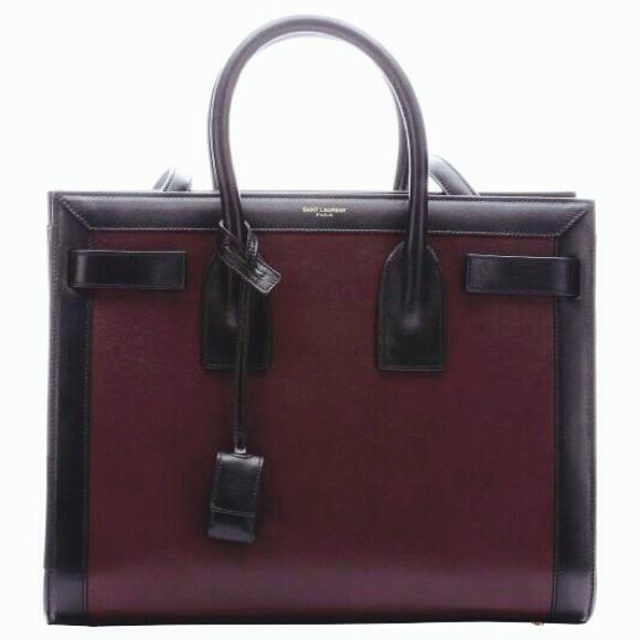 77d25a198bf8 Yves Saint Laurent YSL Sac de Jour Handbag Chanel