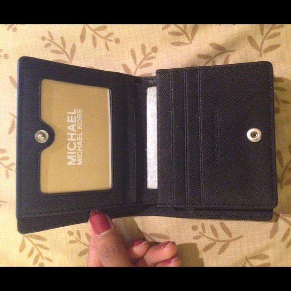 7b9296f183af michael kors jet set travel saffiano leather card holder   Atlanta ...