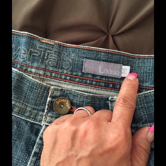 "Silver Jeans - Used loose silver tab jeans young men ""SOLD"" from ..."