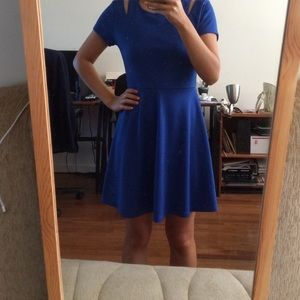 Forever 21 Dresses & Skirts - Blue casual cut out dress