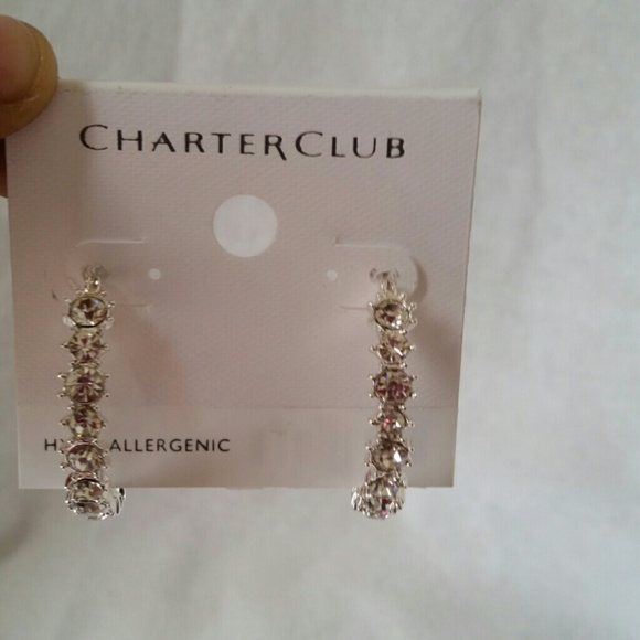 Charter Club - CHARTER CLUB Hoop Earrings from Tamara's ...