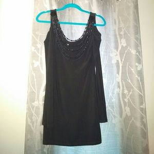 Dresses & Skirts - Off the Shoulder sexy black dress