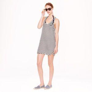 J. Crew Gauze Tank Dress in Stripe