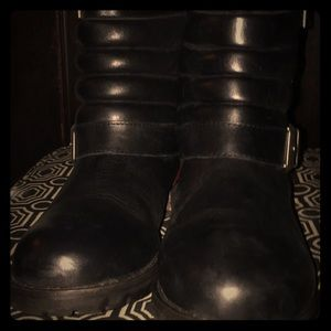 Kelsi Dagger Reagan Motor Leather Boot