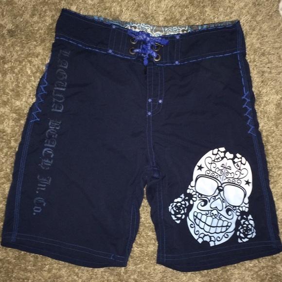 379681b36bc8e Laguna Beach Pants - LAGUNA BEACH co board swim SHORTS trunks 34 skull