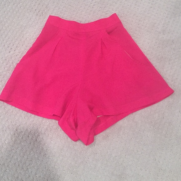 Naven - Naven hot pink high waisted shorts from Lacey's closet on ...