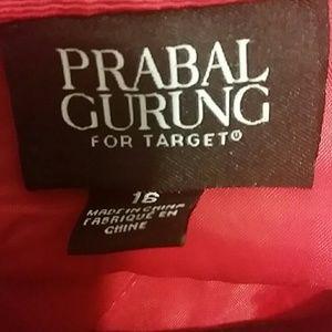 Prabal Gurung for Target Dresses - Prabal Gurung for Target Red Fit and Flare Dress