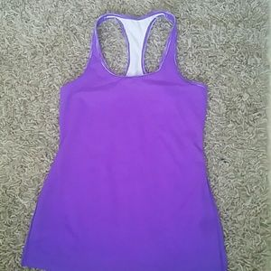 Gorgeous purple VS workout tank