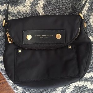 "MARC JACOBS  ""Natasha"" nylon crossbody"