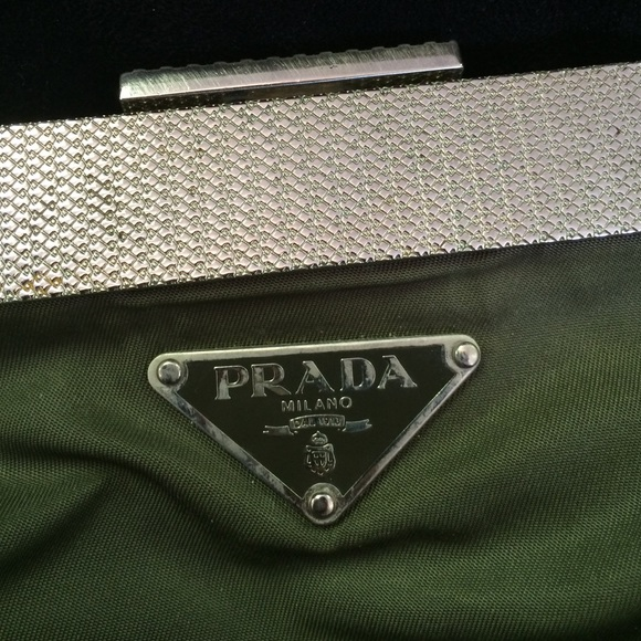 71% off Prada Handbags - Rare Prada! Nylon, silver hardware ...