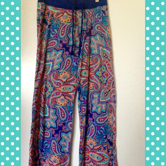 Cynthia Rowley Pajamas: Cynthia Rowley Soft Paisley Pajama Pants
