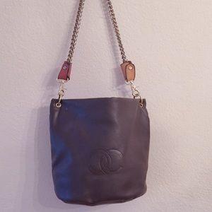 Handbags - Brown chain handbag