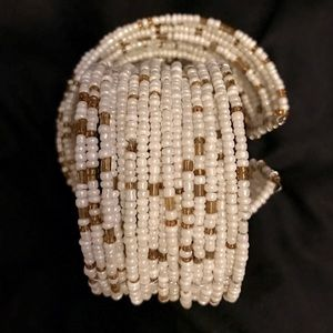 Accessories - Beaded Cuff Bracelet NWOT