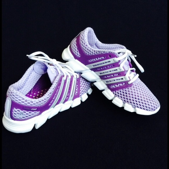 wholesale dealer 766ff 1ecd9 Adidas Shoes - Authentic Adidas Crazy Cool Purple Shoes🌈